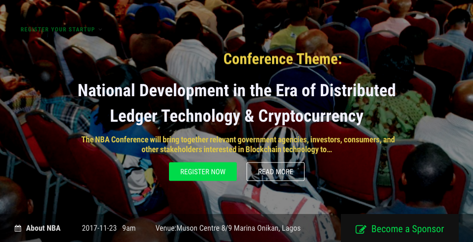 nigeria blockchain alliance conference