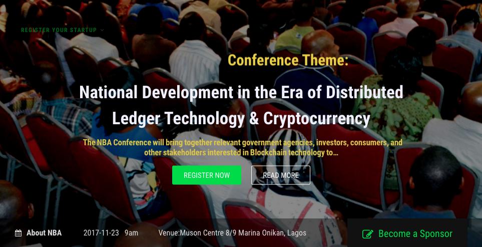 nigeria blockchain alliance conference