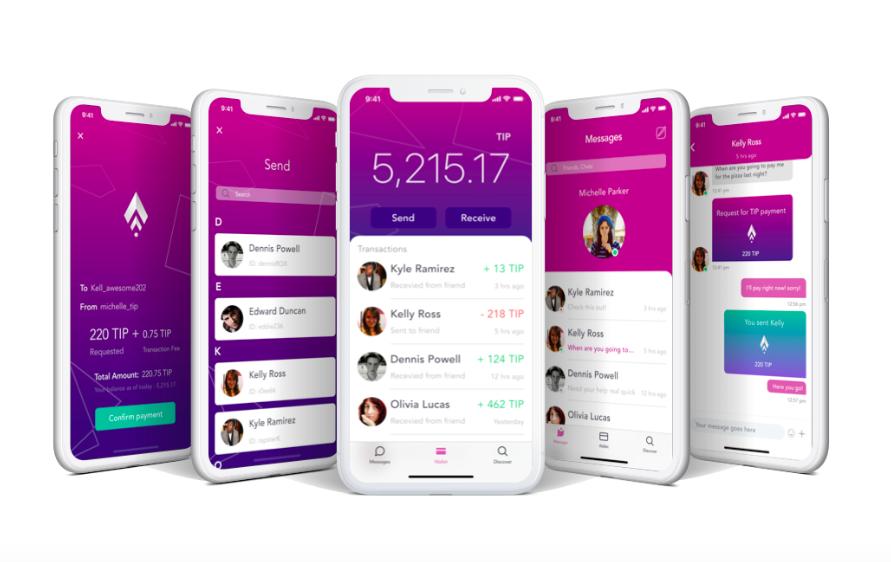 TipBlockchain App
