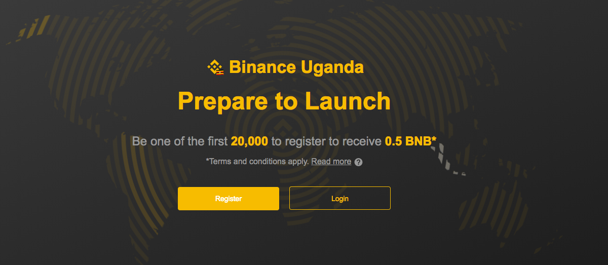Binance Launches in Uganda