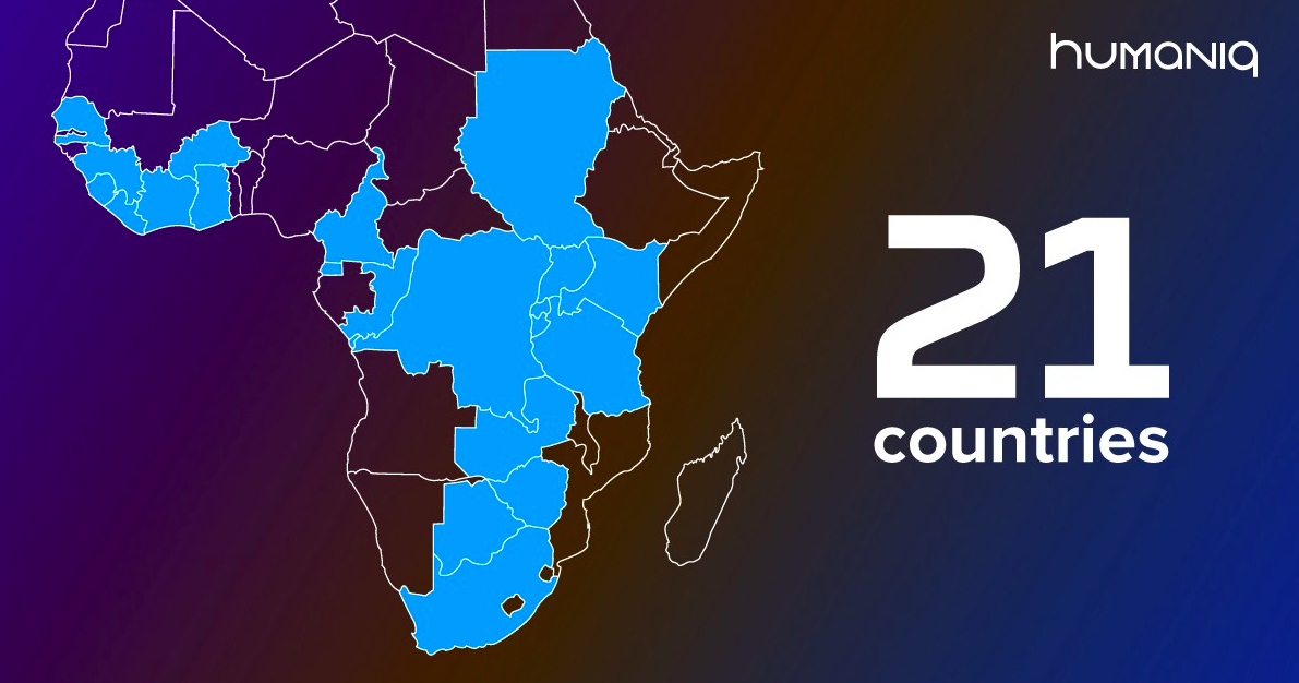 Humaniq 21 African Countries