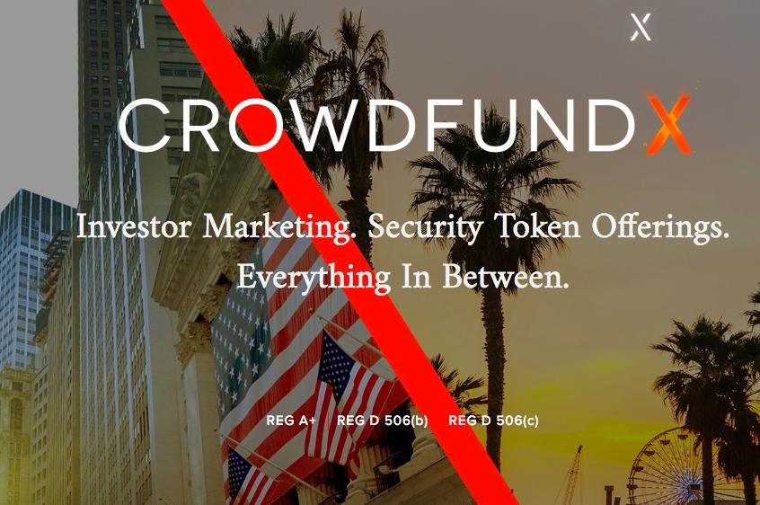 crowdfundX