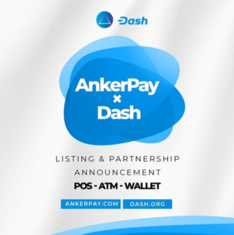 DASH Partners with AnkerPay