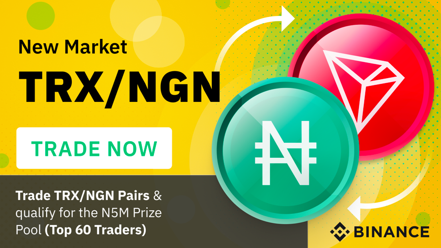 TRX/NGN Trading Competition in Nigeria
